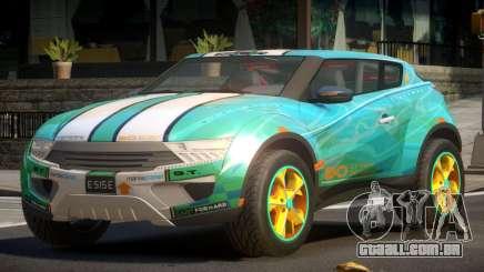 Lagoon Car from Trackmania 2 PJ11 para GTA 4