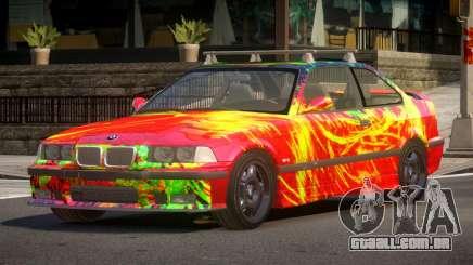 1992 BMW M3 E36 L7 para GTA 4