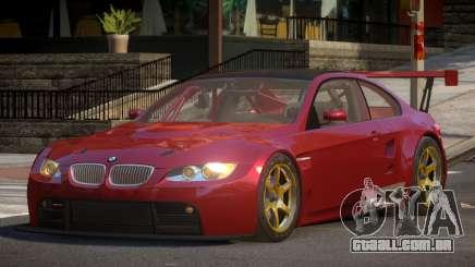 2009 BMW M3 GT2 para GTA 4