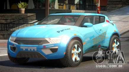 Lagoon Car from Trackmania 2 PJ1 para GTA 4
