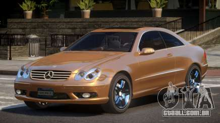 Mercedes Benz CLK55 GST para GTA 4