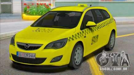 Opel Astra J Kombi Taxi para GTA San Andreas