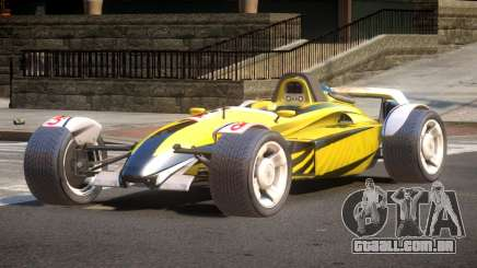 Stadium Car from Trackmania PJ7 para GTA 4