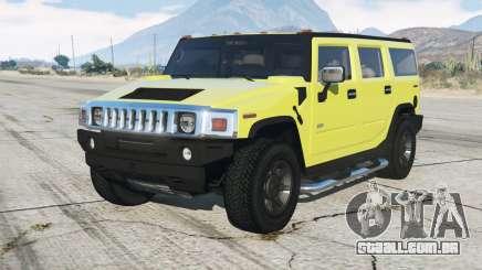 200ⴝ Hummer H2 para GTA 5