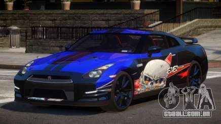 Nissan GT-R GST L3 para GTA 4