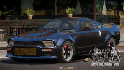 Ford Mustang Aggressive Style para GTA 4