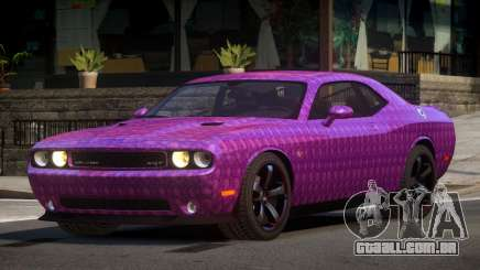 Dodge Challenger Drift L3 para GTA 4