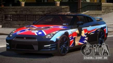 Nissan GT-R GST L8 para GTA 4
