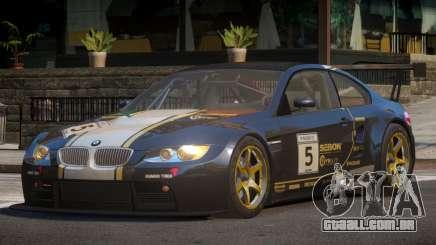 2009 BMW M3 GT2 L8 para GTA 4