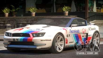 Canyon Car from Trackmania 2 PJ15 para GTA 4