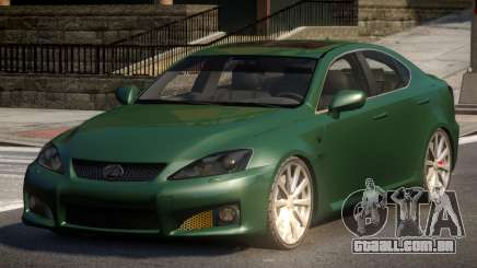 Lexus IS-F L-Tuned para GTA 4