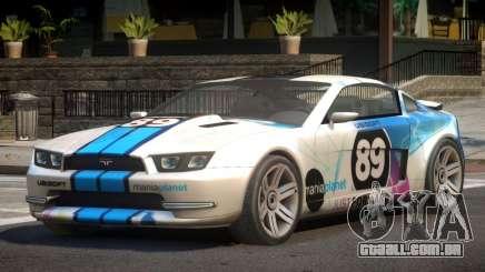 Canyon Car from Trackmania 2 PJ9 para GTA 4