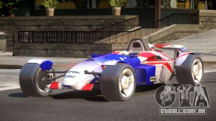 Stadium Car from Trackmania PJ1 para GTA 4