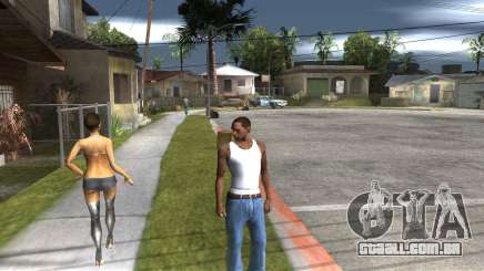 Player Move Head para GTA San Andreas