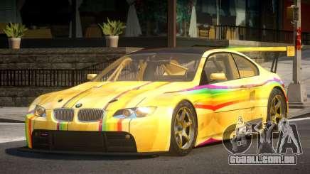 2009 BMW M3 GT2 L7 para GTA 4