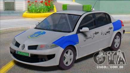 Renault Megane Police para GTA San Andreas