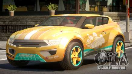 Lagoon Car from Trackmania 2 PJ6 para GTA 4
