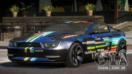 Canyon Car from Trackmania 2 PJ2 para GTA 4