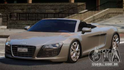 Audi R8 FSI 5.2 SR para GTA 4