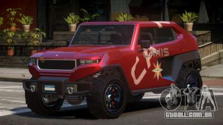 Canis Freecrawler L1 para GTA 4