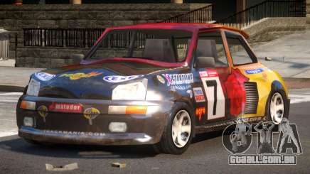 Rally Car from Trackmania PJ6 para GTA 4