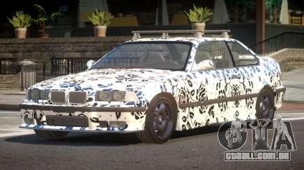1992 BMW M3 E36 L10 para GTA 4