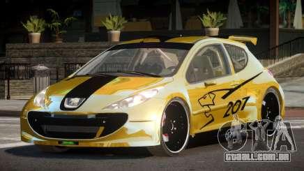 Peugeot 207 RT para GTA 4