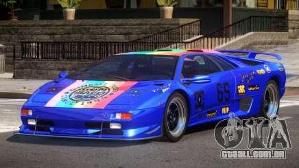 Lamborghini Diablo Super Veloce L1 para GTA 4
