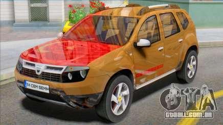 Dacia Duster 2014 Modu Türkiye para GTA San Andreas