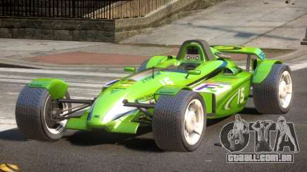 Stadium Car from Trackmania PJ4 para GTA 4