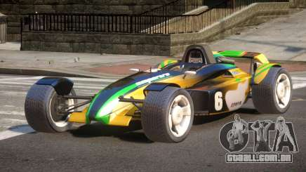 Stadium Car from Trackmania PJ2 para GTA 4