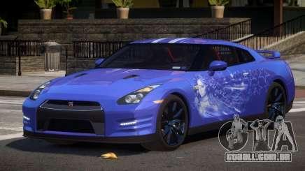 Nissan GT-R GST L1 para GTA 4