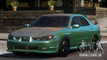 Subaru Impreza STI GS para GTA 4