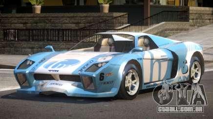 Island Car from Trackmania PJ1 para GTA 4