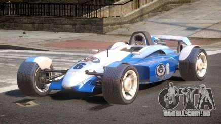 Stadium Car from Trackmania PJ6 para GTA 4