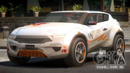 Lagoon Car from Trackmania 2 PJ12 para GTA 4