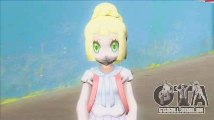 Pokemon Sun and Moon Lillie Z Powered Form para GTA San Andreas