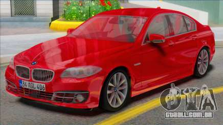 BMW 525i F10 REAL CAR para GTA San Andreas