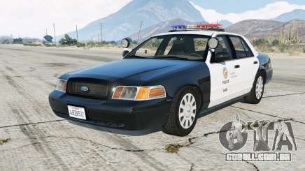 Ford Crown Victoria LAPD para GTA 5