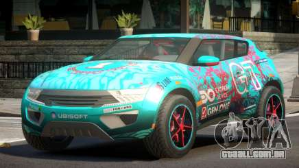 Lagoon Car from Trackmania 2 PJ7 para GTA 4