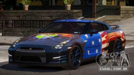 Nissan GT-R GST L10 para GTA 4