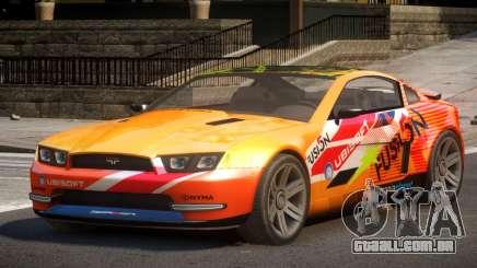 Canyon Car from Trackmania 2 PJ11 para GTA 4