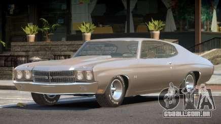 1972 Chevrolet Chevelle SS para GTA 4