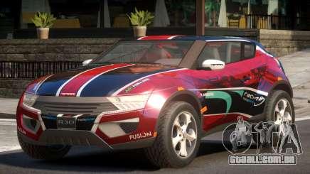 Lagoon Car from Trackmania 2 PJ9 para GTA 4