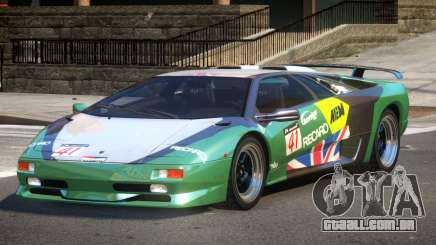 Lamborghini Diablo Super Veloce L2 para GTA 4