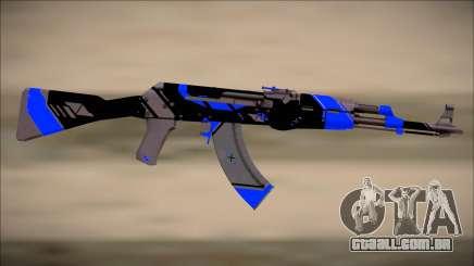PROJECT ASIIMOV II (blue) para GTA San Andreas