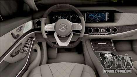 Mercedes-Maybach S650 Brabus Rocket 900 para GTA San Andreas