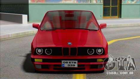 BMW E30 - Cabrio (ETB Lojistik) para GTA San Andreas