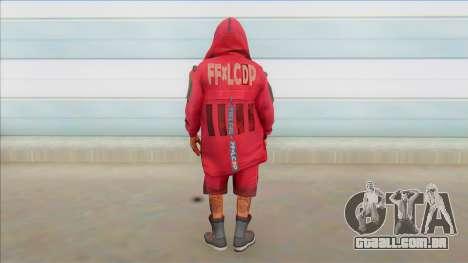 Skin Plano Bermuda Urbano Masculino Free Fire para GTA San Andreas