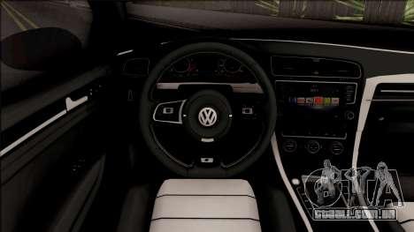Volkswagen Golf 7 Blue para GTA San Andreas